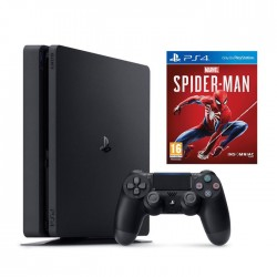 PlayStation 4 Slim (1TB) + SPIDERMAN