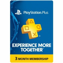 Подписка PlayStation Plus (3 месяца)