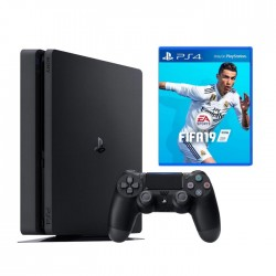 PlayStation 4 Slim (1TB) + FIFA19
