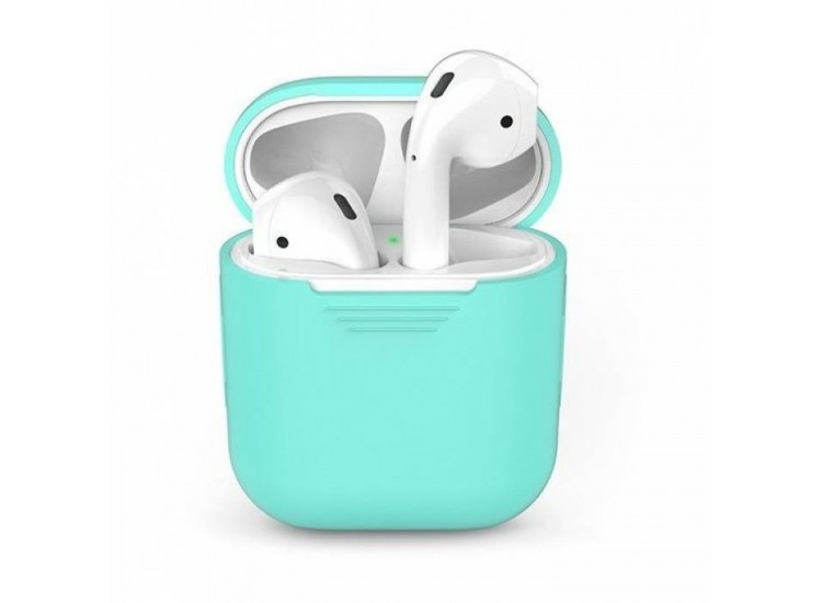 TPU Case для Apple AirPods (Mint Green)