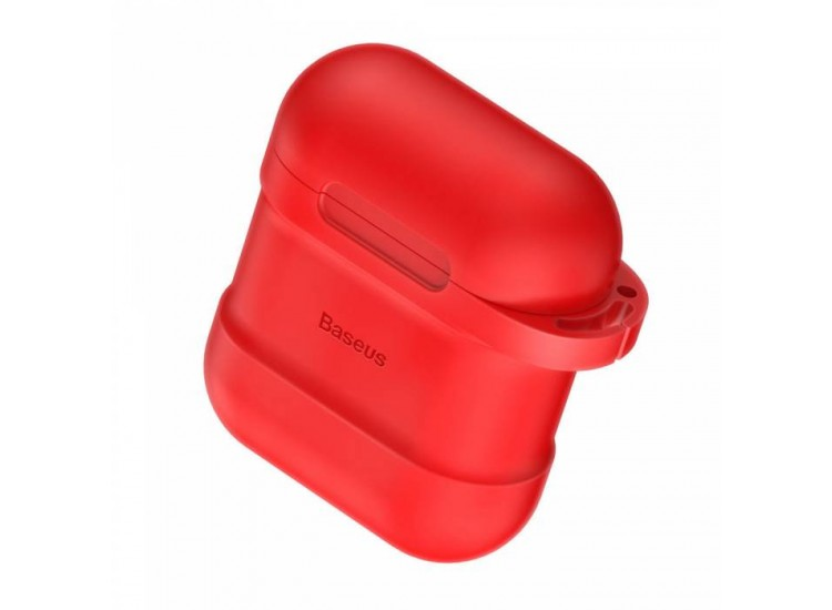 Baseus Silicone Case для Apple AirPods (Red)