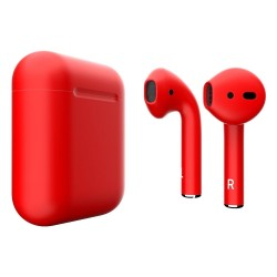 Навушники Apple AirPods 2 Red Matte (MV7N2)