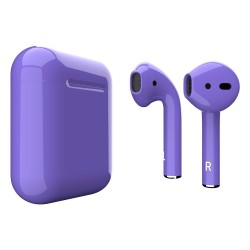 Навушники Apple AirPods 2 Ultra Violet Gloss (MV7N2)