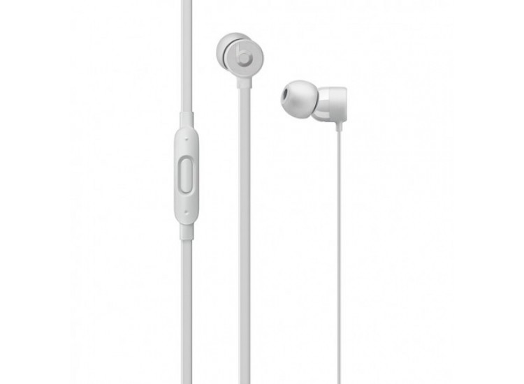 Beats urBeats3 with Lightning Connector (MR2F2ZM) - Silver
