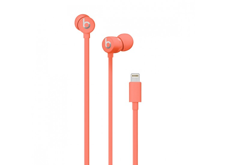 Beats urBeats3 with Lightning Connector (MUHV2) - Coral