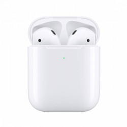 Бездротові навушники AirPods 2 with Wireless Charging Case (MRXJ2)