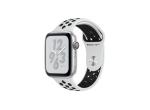 Apple Watch Series 4 Nike+ 44mm GPS Silver Aluminum Case with Pure Platinum/Black Nike Sport Band (MU6K2)