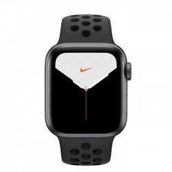 Apple Watch Series 5 Nike+ 40mm GPS Space Gray Aluminum Case with Anthracite/Black Nike Sport Band (MX3T2)