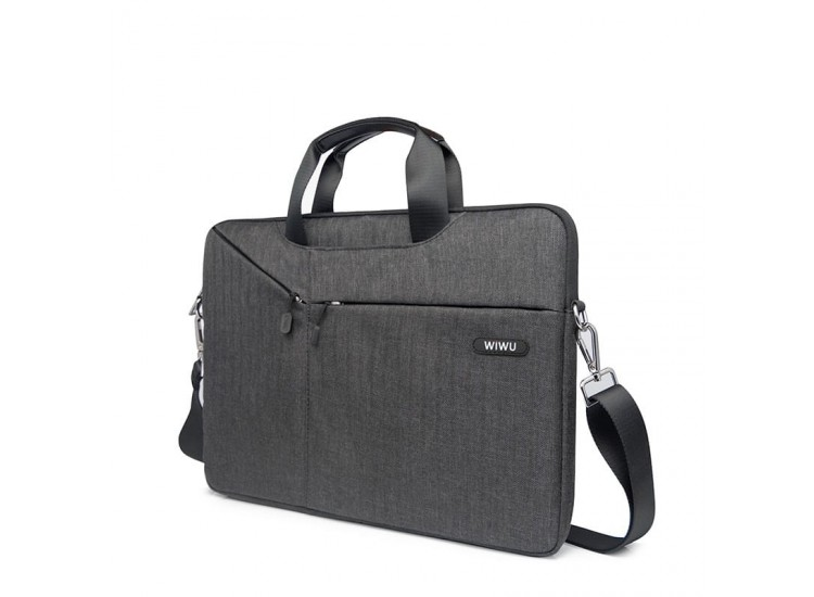 Чехол-сумка WIWU Gent Business Handbag для MacBook Pro 15 (Black)