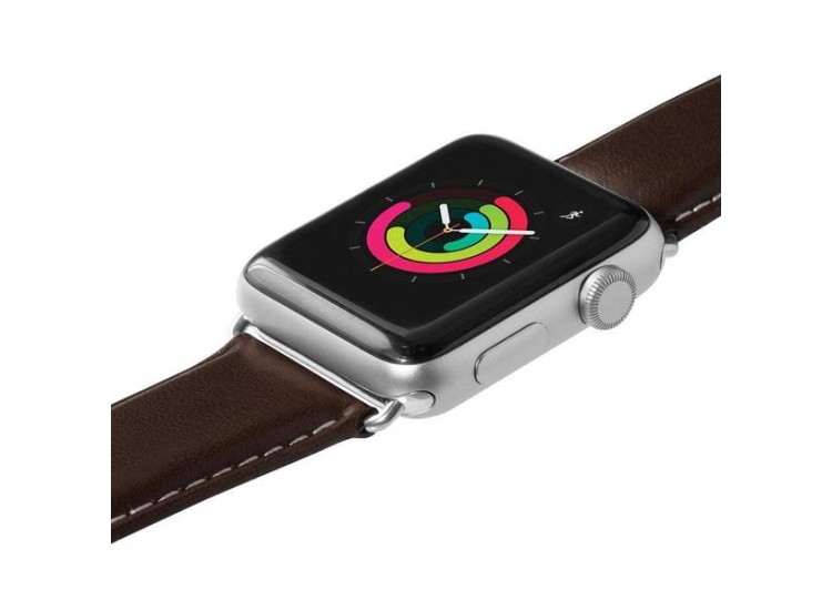Ремешок для Apple Watch 44mm Laut Oxford - Espresso (LAUT_AWL_OX_ES)