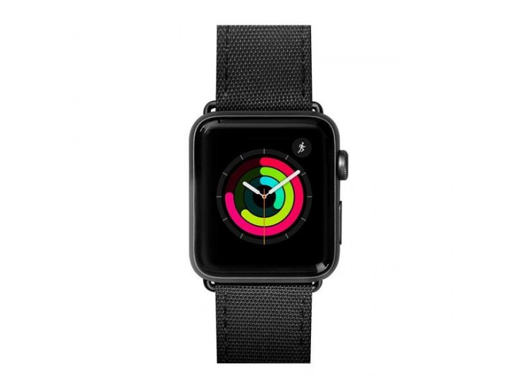 Ремешок для Apple Watch 44mm Laut Technical - Black (LAUT_AWL_TE_BK)