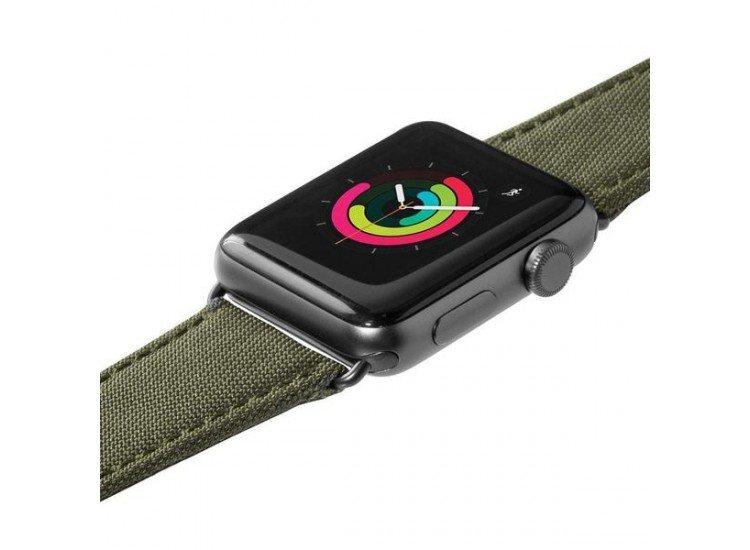 Ремешок для Apple Watch 44mm Laut Technical - Green (LAUT_AWL_TE_GN)