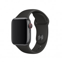 Ремінець для Apple Watch 40mm Sport Band - S/M & M/L - Black (MTP62)
