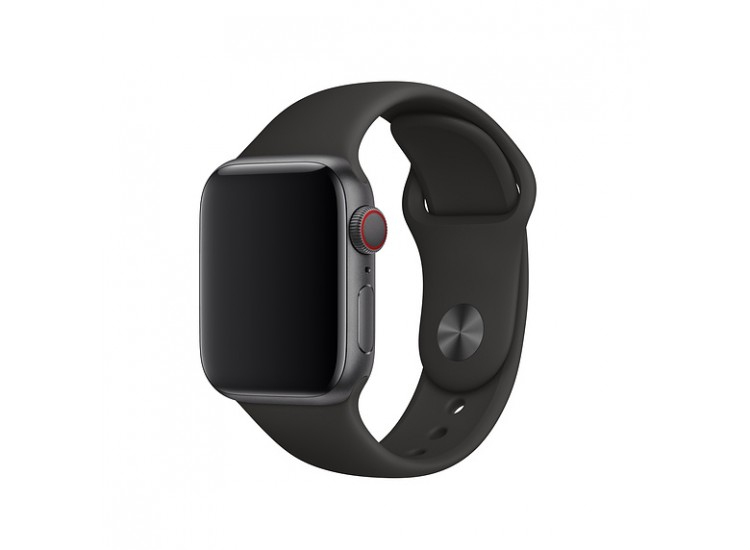 Ремешок для Apple Watch 44mm Sport Band - S/M & M/L - Black (MTPL2)