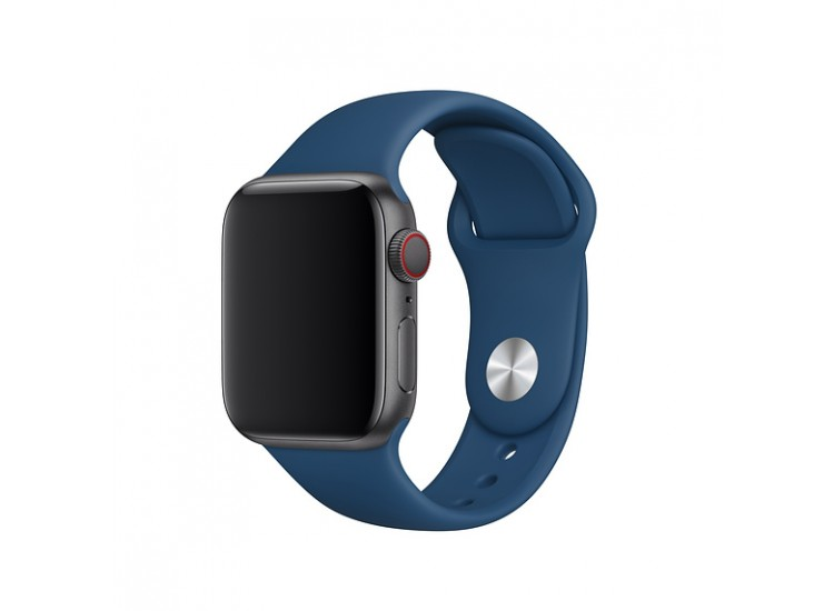 Ремешок для Apple Watch 40mm Sport Band - S/M & M/L - Blue Horizon (MTPC2)