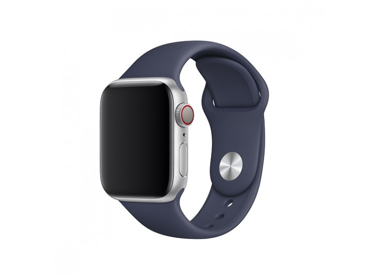 Ремешок для Apple Watch 40mm Sport Band - S/M & M/L - Midnight Blue (MTPH2)