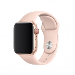 Ремешок для Apple Watch 40mm Sport Band - S/M & M/L - Pink Sand (MTP72)