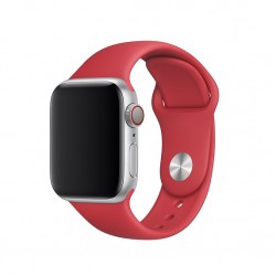 Ремінець для Apple Watch 40mm Sport Band - S/M & M/L - RED (MU9M2)