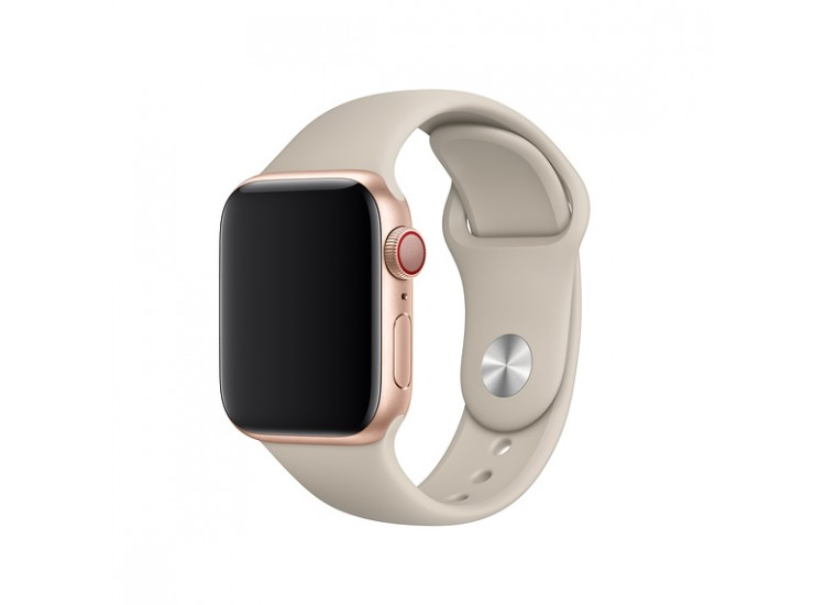 Ремешок для Apple Watch 40mm Sport Band - S/M & M/L - Stone (MTP82)