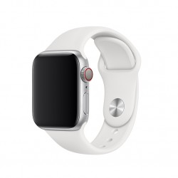 Ремінець для Apple Watch 40mm Sport Band - S/M & M/L - White (MTP52)