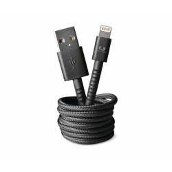 Fresh'N Rebel Fabriq Lightning Cable 3m (Black) (2LCF300CC)