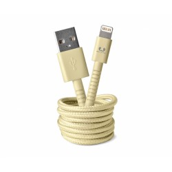 Fresh'N Rebel Fabriq Lightning Cable 3m (Yellow) (2LCF300BC)