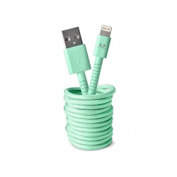 Fresh'N Rebel Fabriq Lightning Cable 1,5m (Mint) (2LCF150PT)