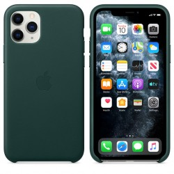 iPhone 11 Pro Leather Case — Forest Green