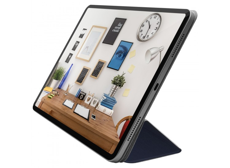 Macally Smart Folio for 11-inch iPad Pro - Blue (BSTANDPRO3S-BL)