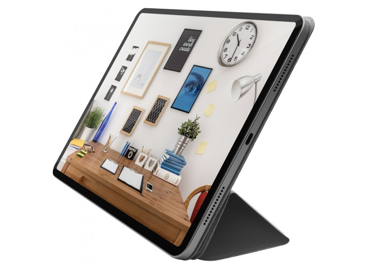 Macally Smart Folio for 11-inch iPad Pro - Gray (BSTANDPRO3S-G)