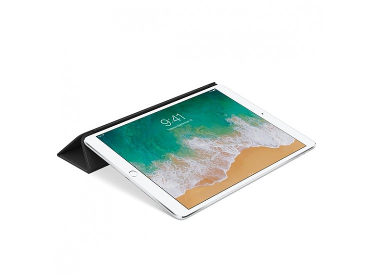 Apple iPad Pro 10.5 Leather Smart Cover (Black)