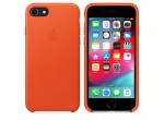 iPhone 8 / 7 Leather Case (Bright Orange)