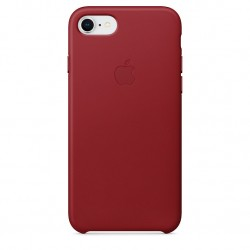 iPhone 8 / 7 Leather Case (PRODUCT) RED