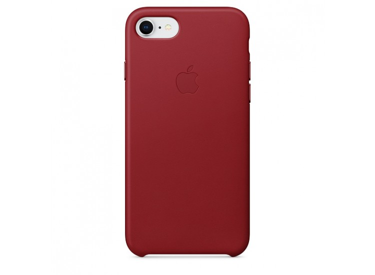 iPhone 8 / 7 Leather Case - (PRODUCT) RED