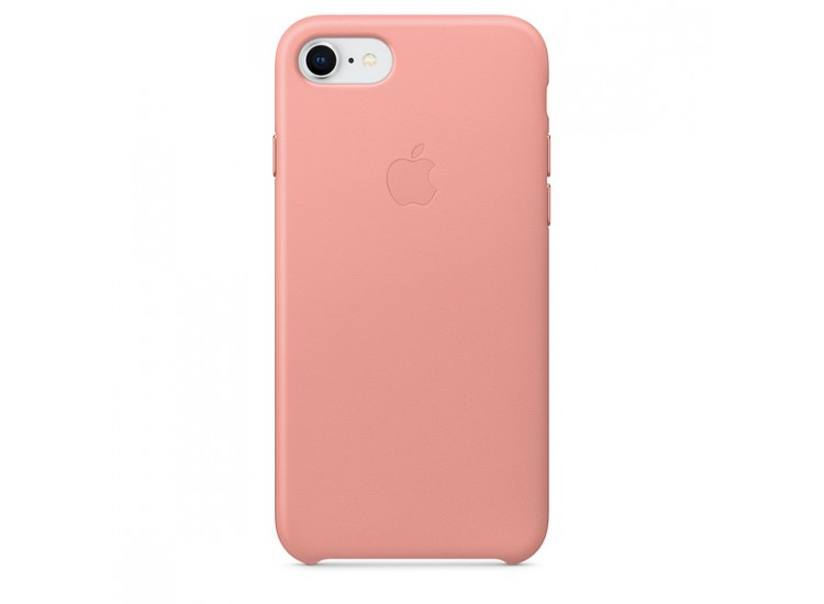 iPhone 8 / 7 Leather Case (Soft Pink)