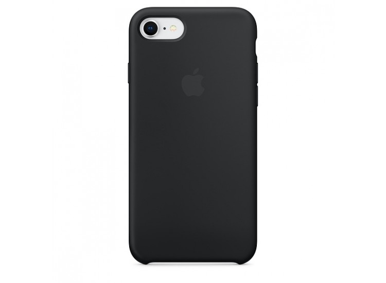 iPhone 8 / 7 Silicone Case (Black)