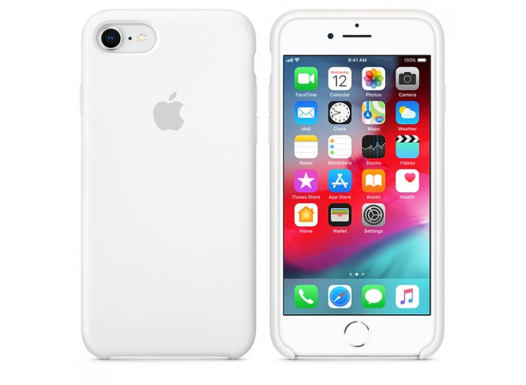 iPhone 8 / 7 Silicone Case (White)