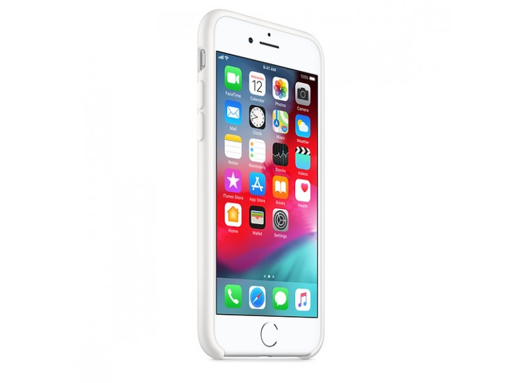 iPhone 8 / 7 Silicone Case - White