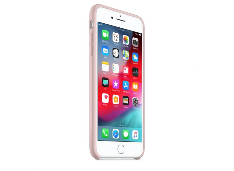 iPhone 8 Plus / 7 Plus Silicone Case (Pink Sand)