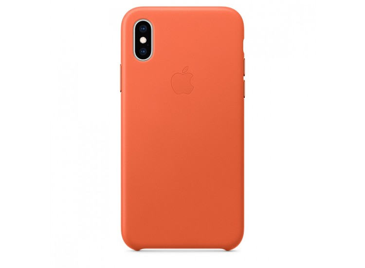 iPhone XS Leather Case (Sunset)