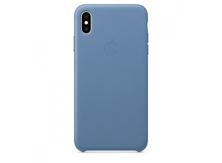 iPhone XS Max Leather Case (Cornflower)
