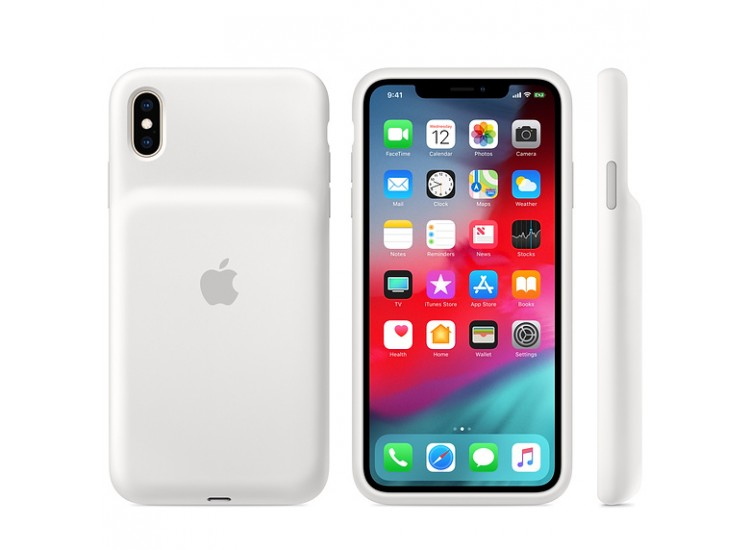 Apple Smart Battery Case (White) (MRXR2) для iPhone XS Max