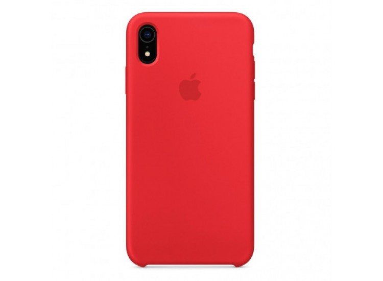 iPhone XR Silicone Case - Red