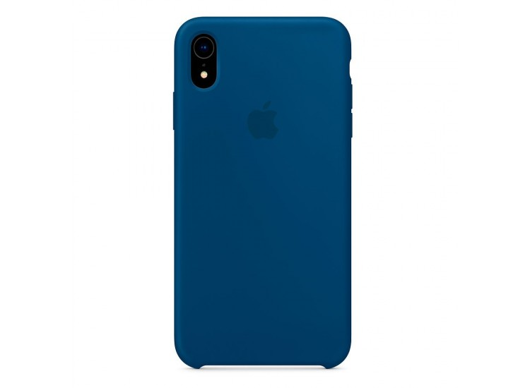 iPhone XR Silicone Case - Blue Horizon