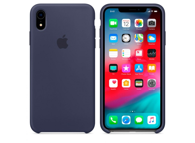 iPhone XR Silicone Case - Midnight Blue