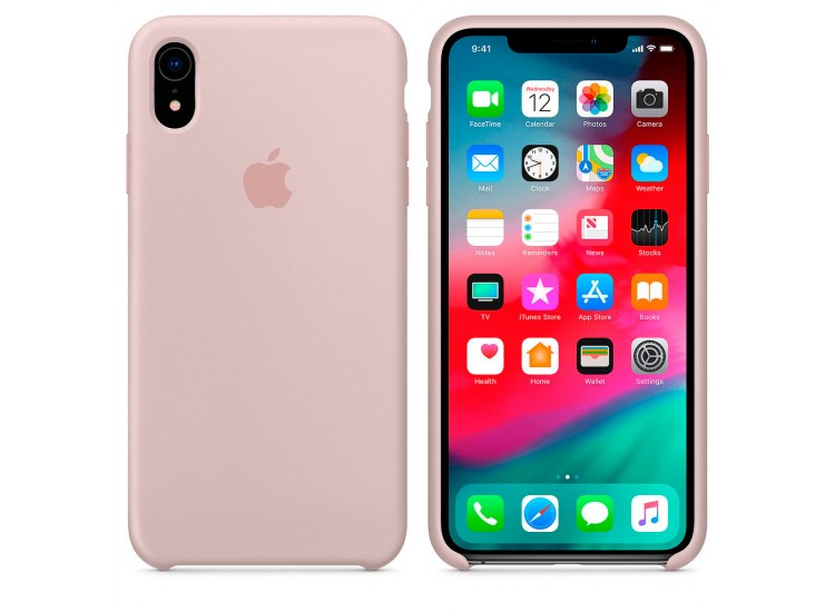 iPhone XR Silicone Case - Pink Sand