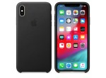 iPhone XS Max Leather Case (Black)