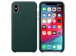 iPhone XS Leather Case (Forest Green)