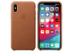 iPhone XS Leather Case (Saddle Brown)