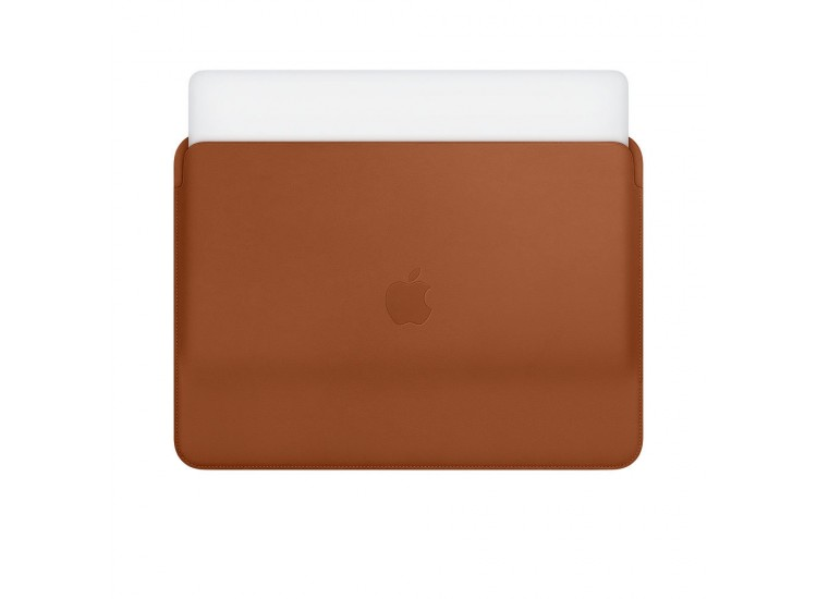 Leather Sleeve for 13-inch MacBook Air and MacBook Pro - Saddle Brown